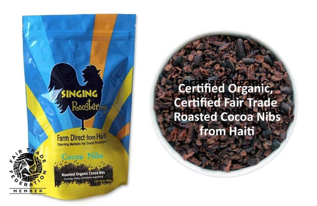 buy organic cocoa haiti nibs online