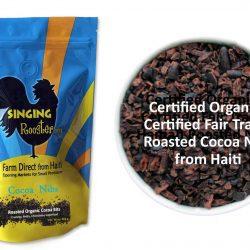 organic cacao nibs, Haiti