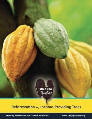 poster haiti cacao trees