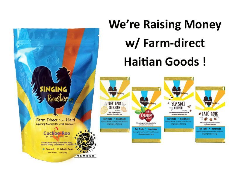 raise money haiti coffee cho