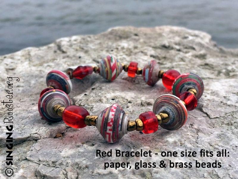 red bracelet haiti