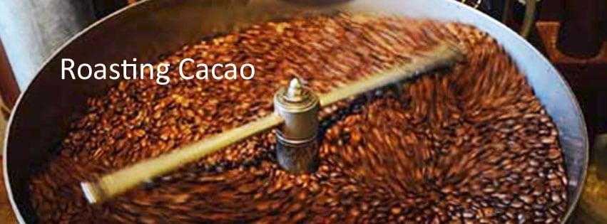 roasting advice Haitian cacao