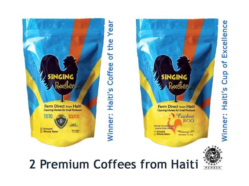 premium coffee from Haiti