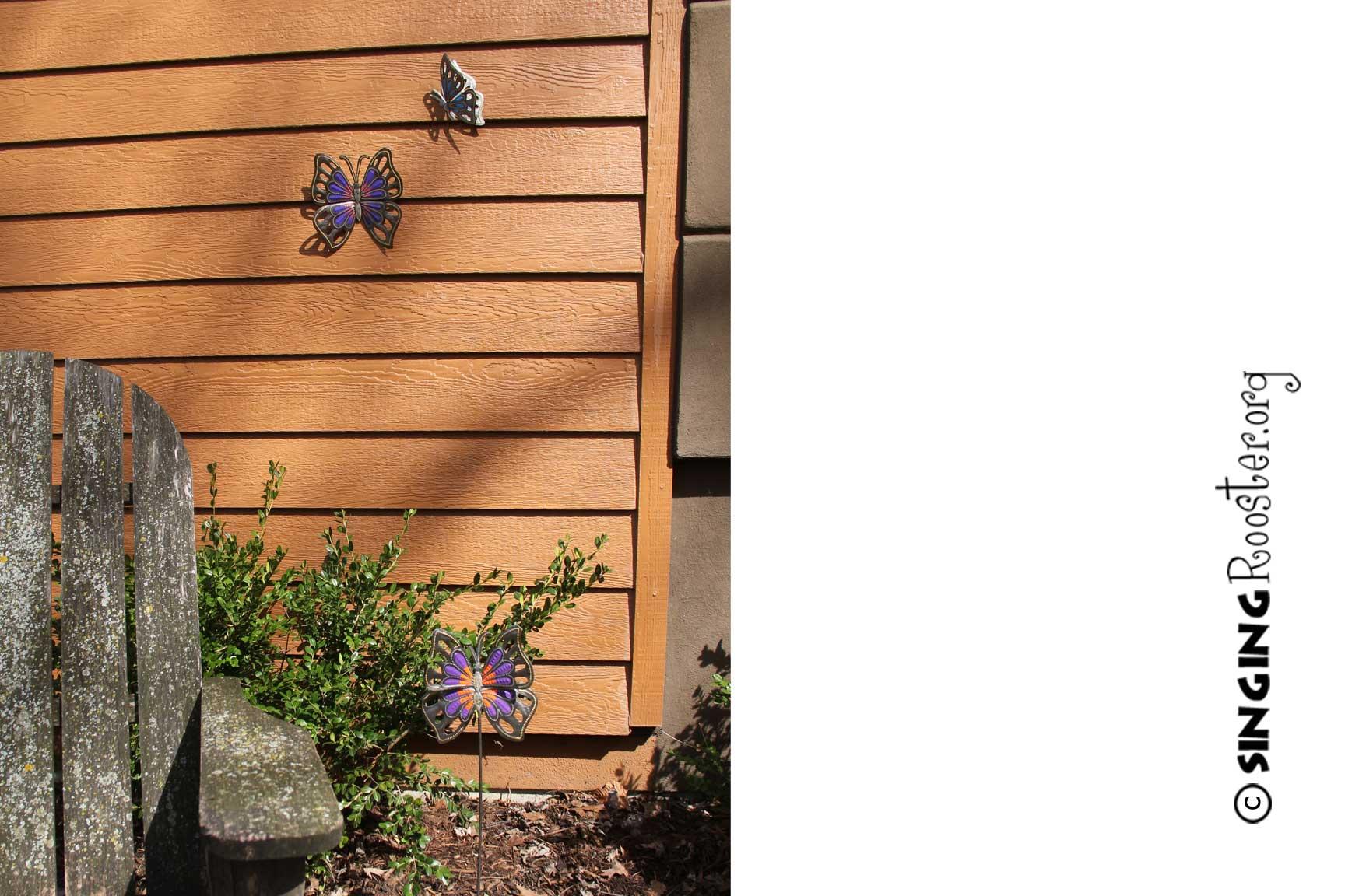 Buy Butterfly Garden Stake Online Shop For Butterfly Garden Art Online ...