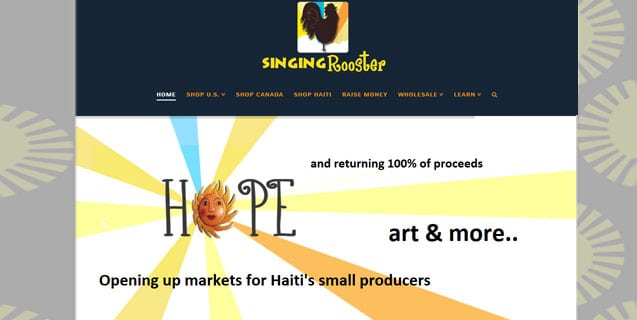 singing rooster new website