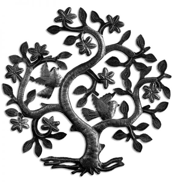 Singing Rooster Tree of Life Wall Art