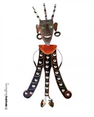 voudoo, metal sculpture Haiti