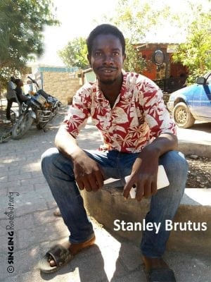 Stanley Brutus, Haitian metal artist