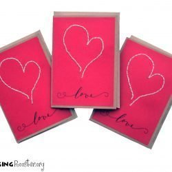 Valentine cards, Singing Rooster